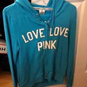 Pink set with sweatshirt and pants
